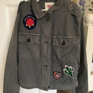 mossimo adorable jean jacket